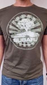 T-shirt Subaru Outdoor