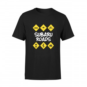 T-shirt Subaru Roads